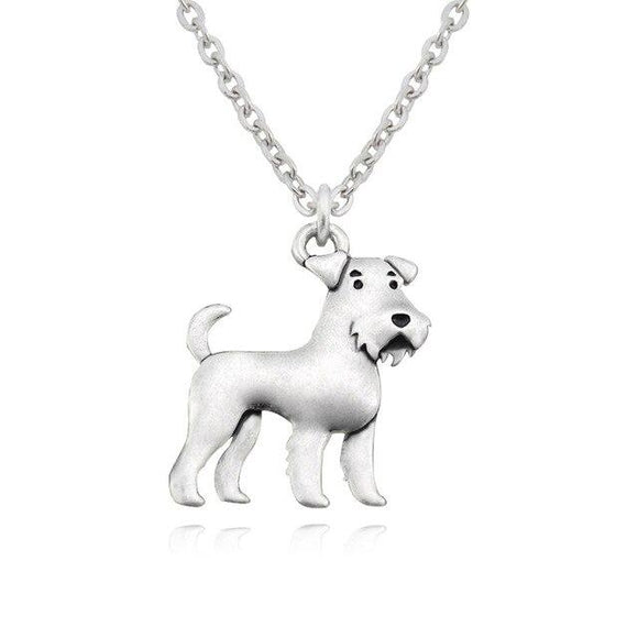 Necklace with Schnauzer Pendant