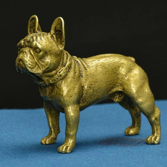 Solid Brass French Bulldog