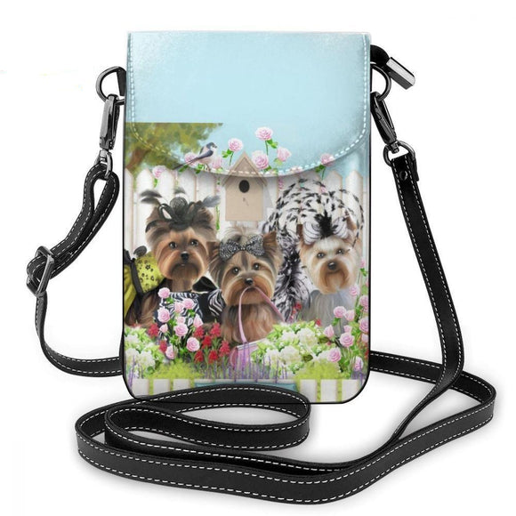 Yorkshire Terrier Shoulder Bag Women
