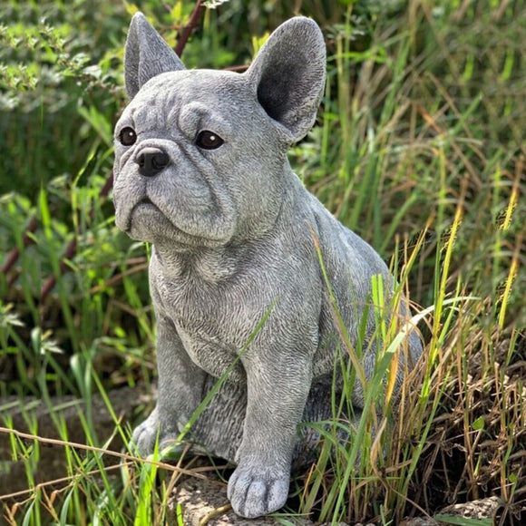 Garden Sculpture French Bulldog Dog Lover Gift Home Decoration