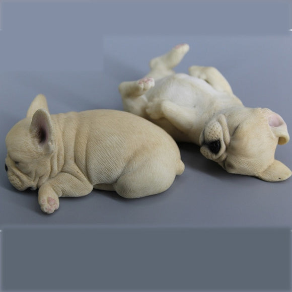 French Bulldog Miniature Figures