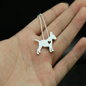 Necklace with Bull Terrier Pendant