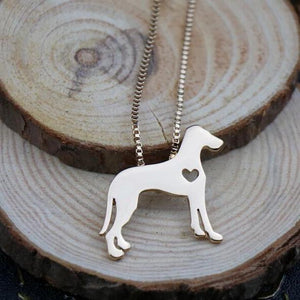 Necklace with Great Dane Pendant