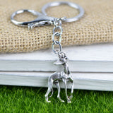 Greyhound Keychain Gift For Pet Dog Lover