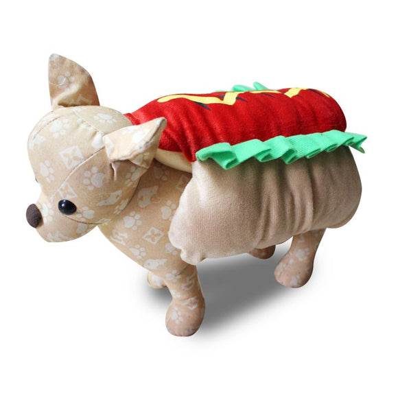 Hot Dog Halloween Costume For Dogs