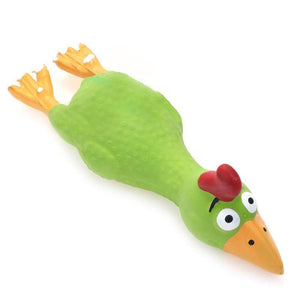 Squeaky Chicken Chew Toy For Dogs
