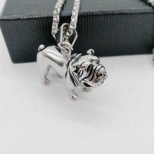Necklace With Shar Pei Pendant