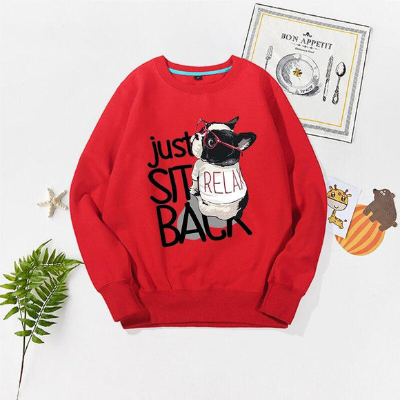 Kids Long Sleeve Casual Sweatshirt