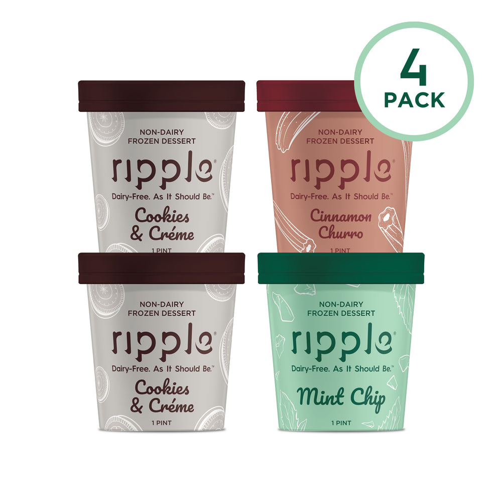 Ripple Fan Favorites Frozen Dessert (4 Pack)