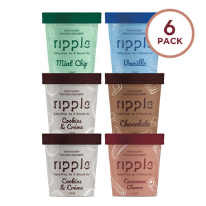 Ripple Fan Favorites Frozen Dessert (6 Pack)