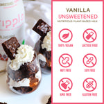 Unsweetened Vanilla Plant-Based Milk (Refrigerated; 6-Pack)