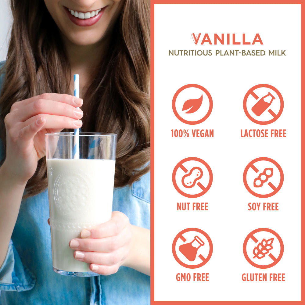 Vanilla Plant-Based Milk (Refrigerated; 6-Pack)
