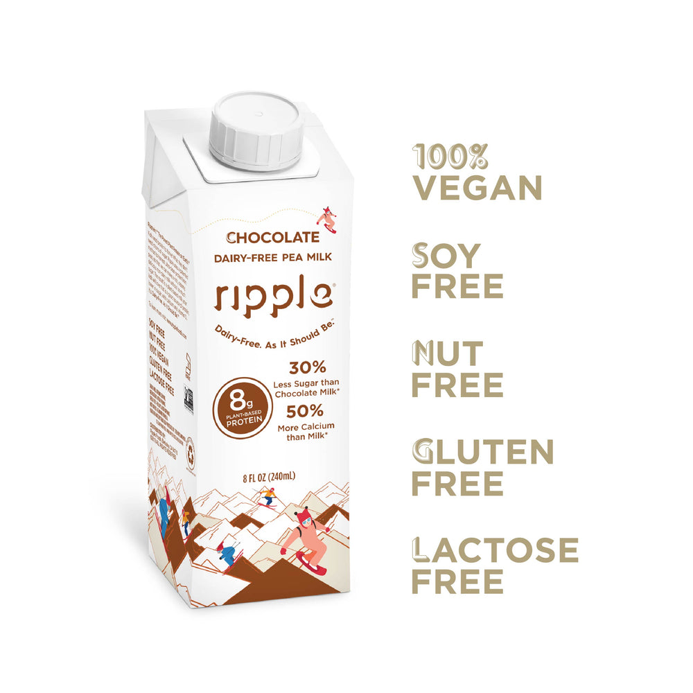 Chocolate Plant-Based Milk (Shelf Stable; 16 Pack)