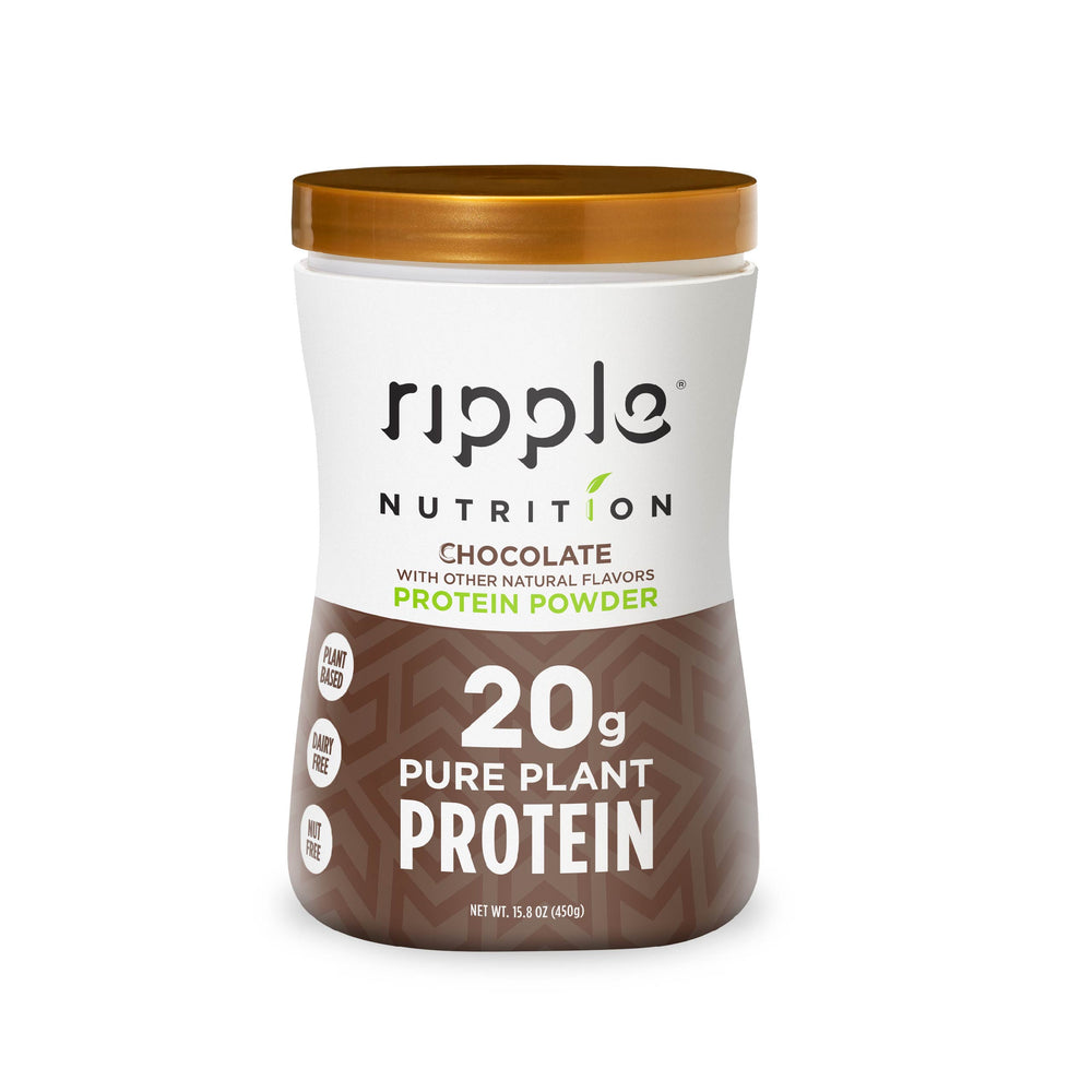 Ripple Nutrition Chocolate Plant-Based Protein Powder