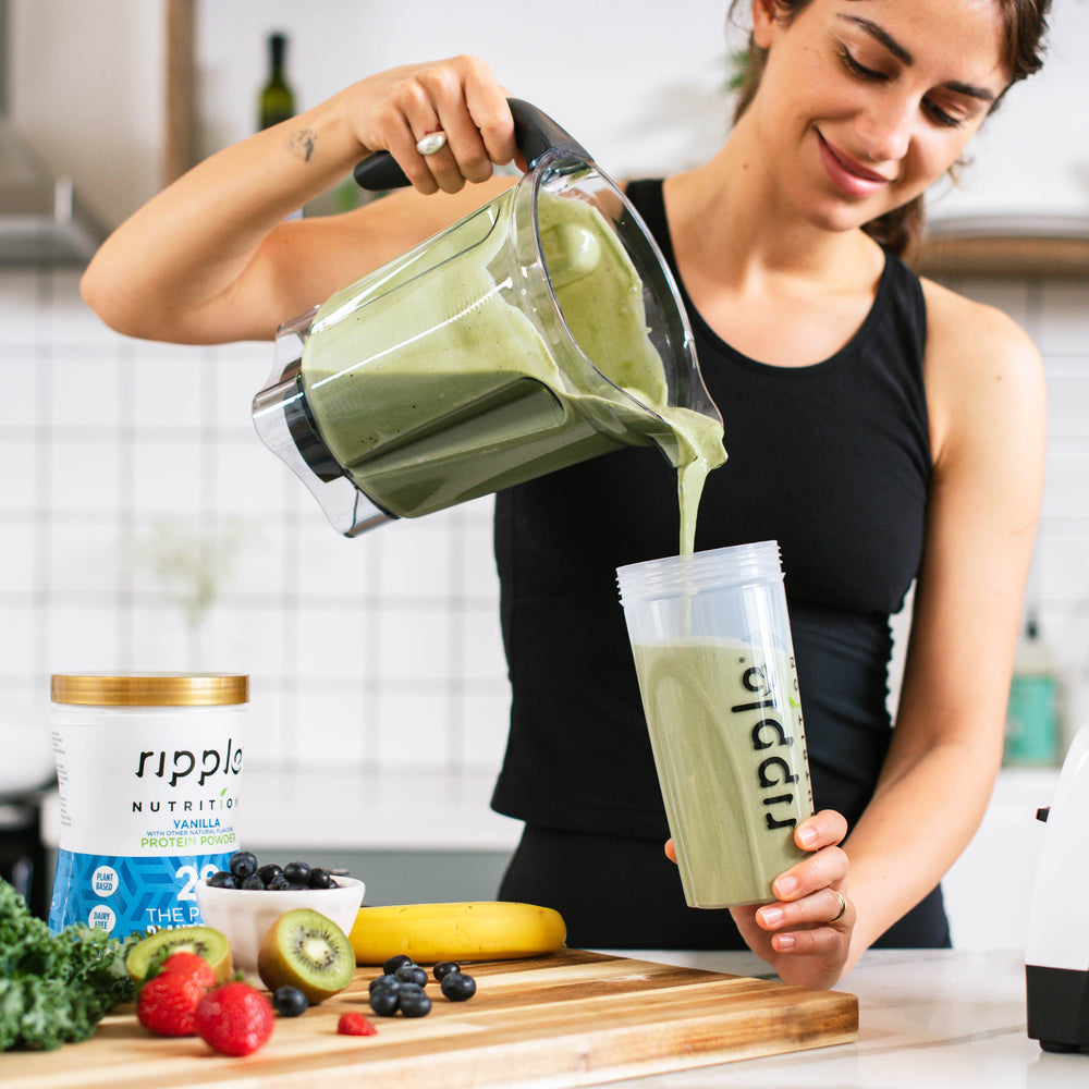 Ripple Nutrition Vanilla Plant-Based Protein Powder