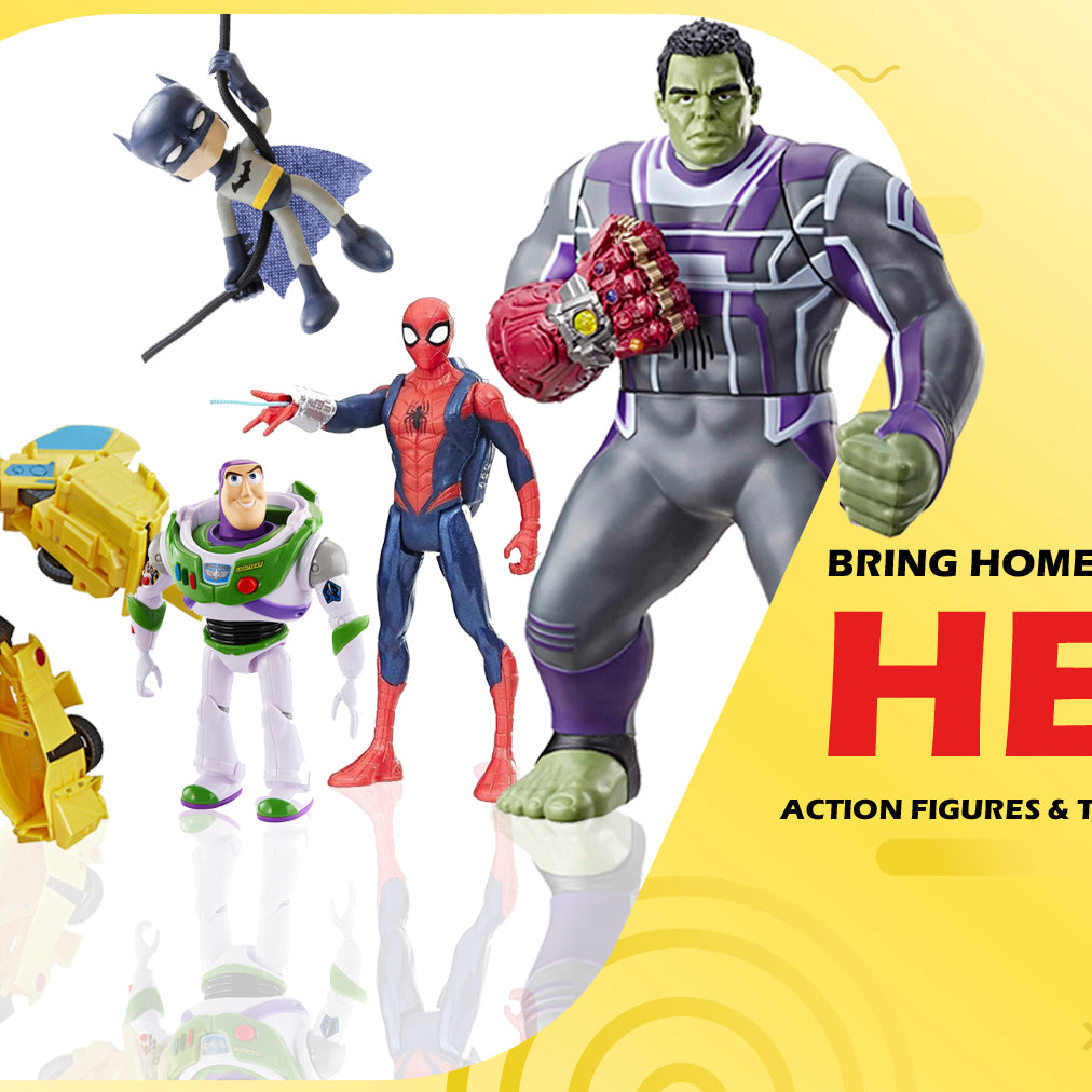 Toys Action Figures for kids India Entertainment Store