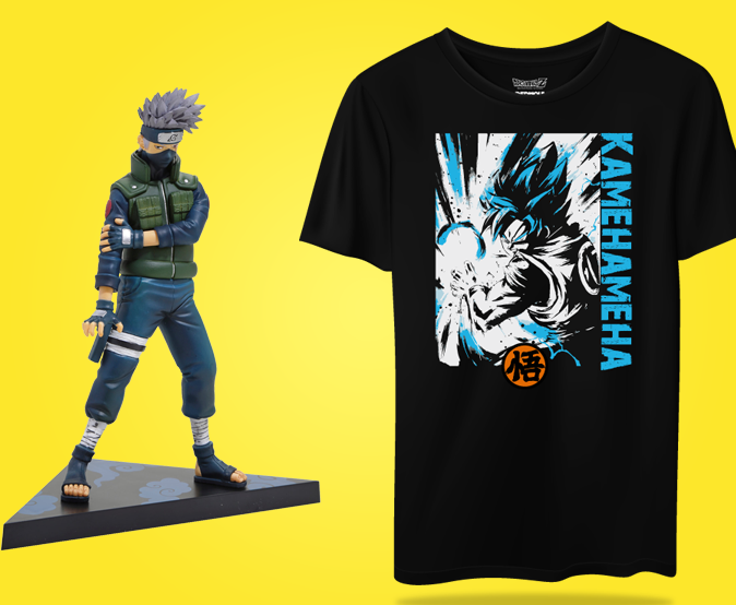 MANGA T SHIRTS & FIGURES