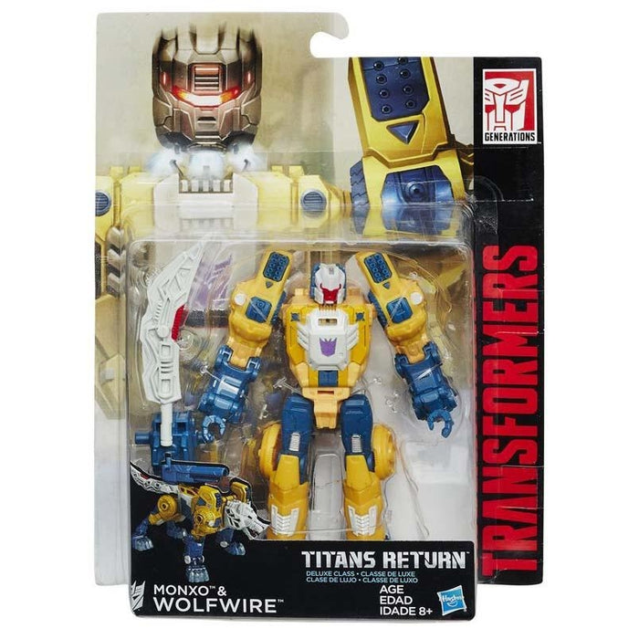 Transformers Monxo & Wolfwire Titan Return Action Figure