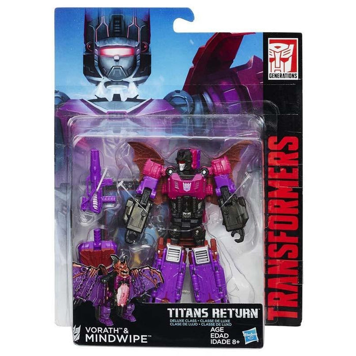 Transformers Vorath & Mindwipe Action Figure
