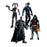 Arkham City Harley Quinn Batman Nightwing & Robin Action Figure 4 Pack