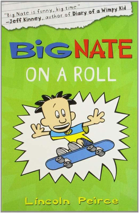 Big Nate On A Roll Paperback
