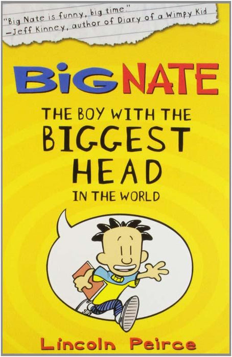 Big Nate Boy With Biggest Head In World Paperback