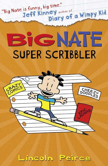Big Nate Super Scribbler Paperback