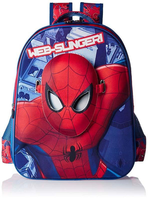 Spiderman With Face Maskschool Bag