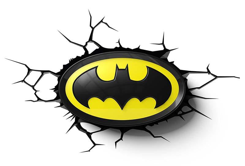 Batman Logo 3D Deco Light