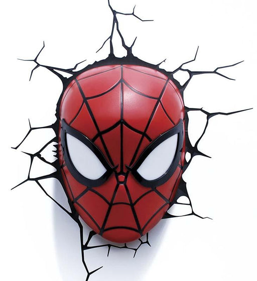 Spiderman Mask 3D Deco Light