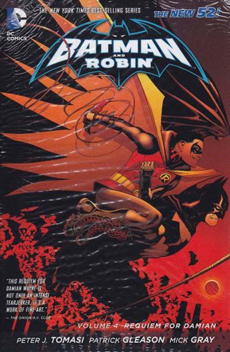 Batman & Robin Volume 4 Requiem For Damian The New 52 Paperback
