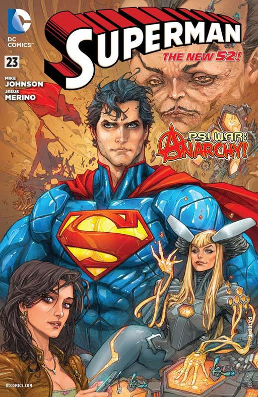 Superman Volume 4 PSI War The New 52 Paperback