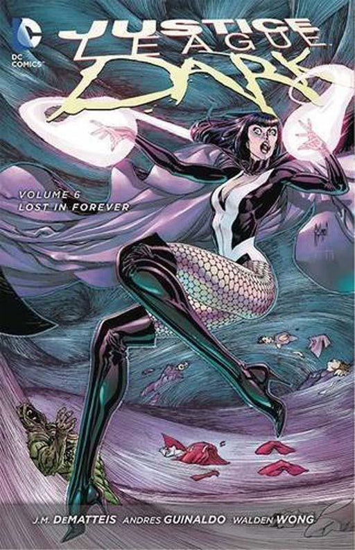 Justice League Dark Volume 6 Lost In Forever The New 52 Paperback