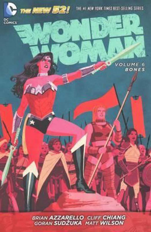 Wonder Woman Volume 6 Bones The New 52 Paperback