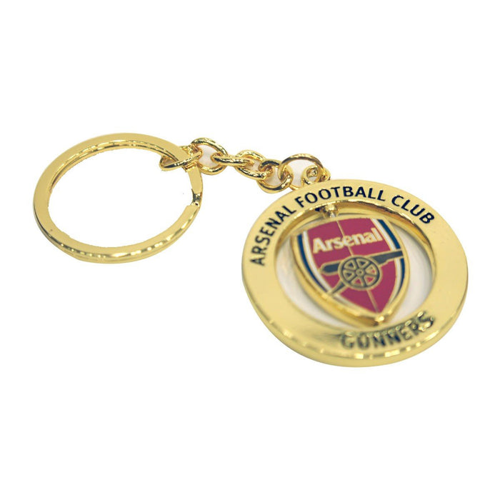 Arsenal Fc Spinner Keyring