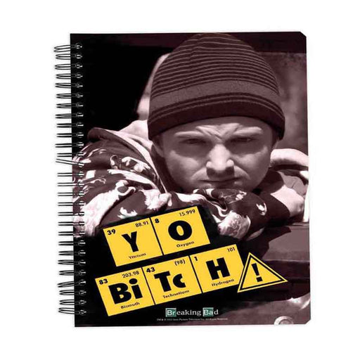 Breaking Bad Yo Bitch Notebook