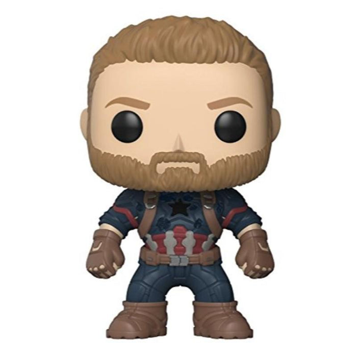 Avengers Infinity War Captain America Bobble Head