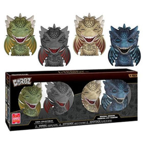 Dorbz Funko Game of Thrones Dragons 4 Pack 2018 SDCC Exclusive Figures