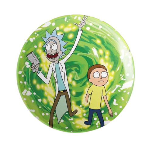 Rick And Morty Ricksy Business Badge - www.entertainmentstore.in