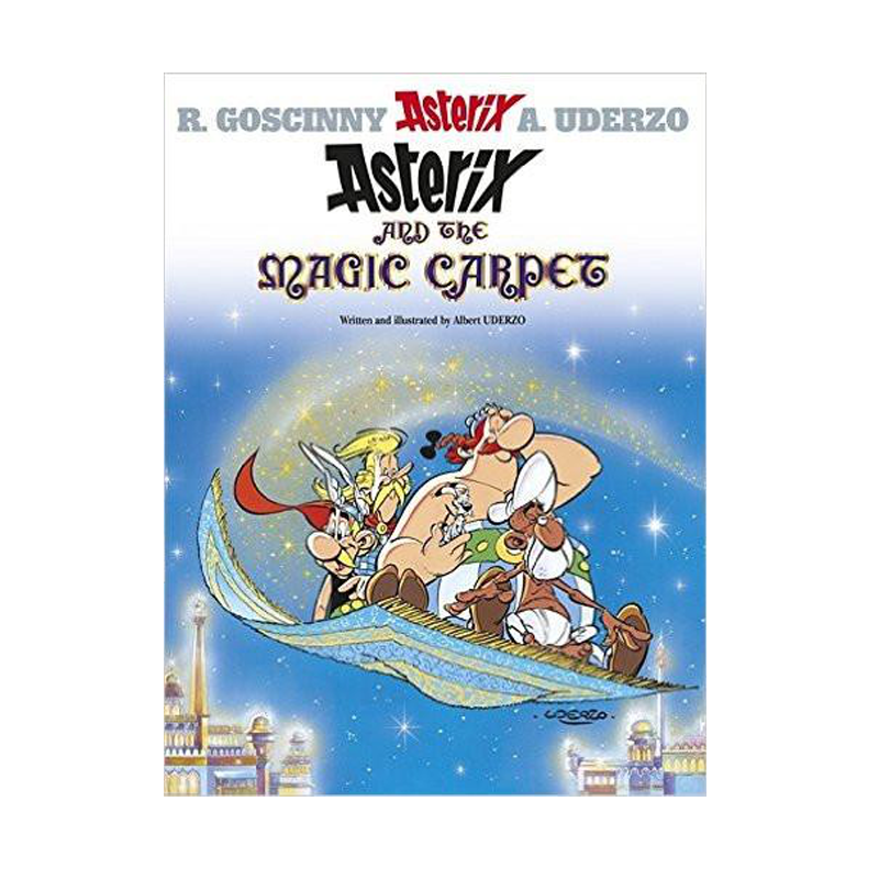 Asterix And The Magic Carpet #28 Paperback - www.entertainmentstore.in