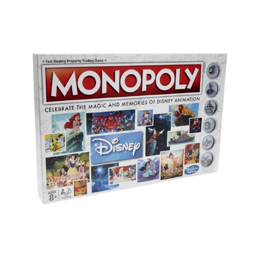 Monopoly Disney Animation Edition Game - www.entertainmentstore.in