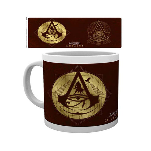 Assassins Creed Origins Gold Icons Mug