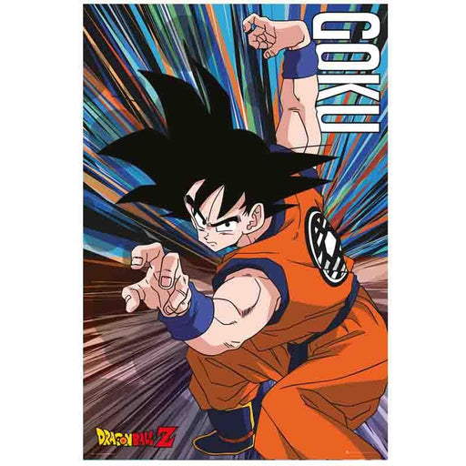 Dragon Ball Z Goku Jump Maxi Poster