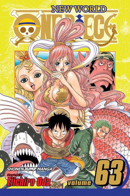 One Piece Vol 63 - Paperback
