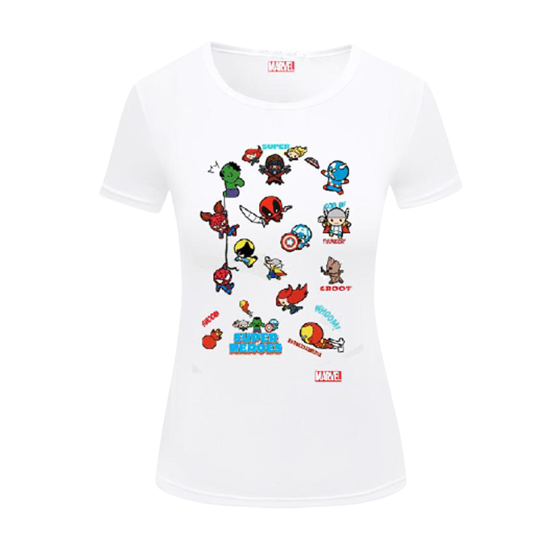 Avengers (2379) White Womens  T Shirt - www.entertainmentstore.in