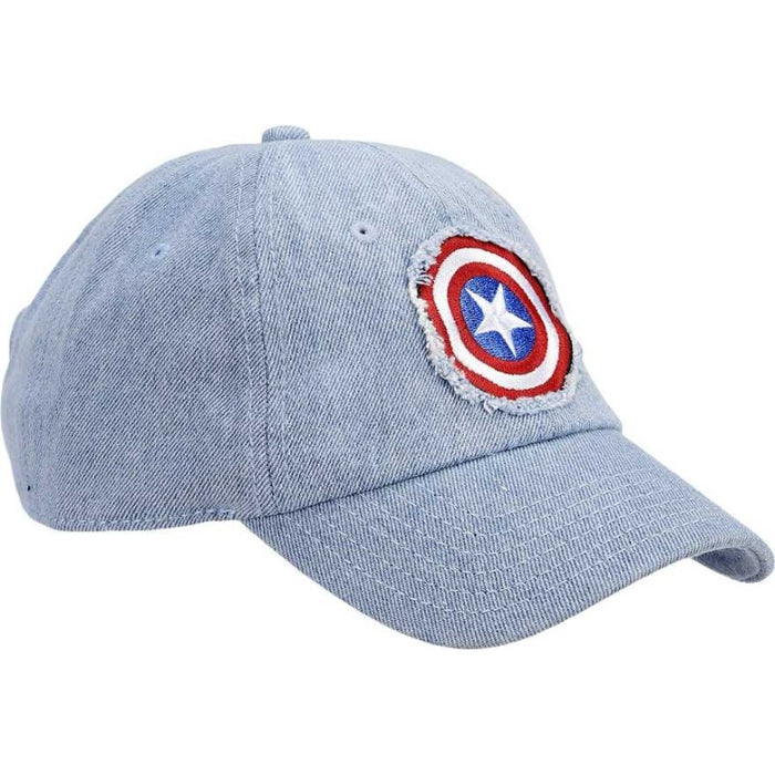 Avengers Six Panel Curved Brium Cap - www.entertainmentstore.in