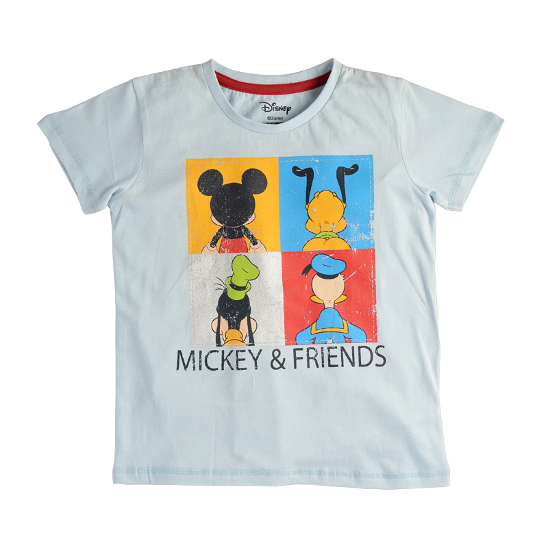 Mickey Mouse (1248) Blue Boys T Shirt - www.entertainmentstore.in