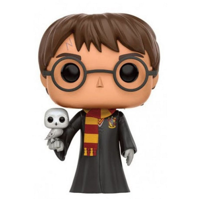 Harry Potter with Hedwig Pop Figure