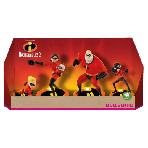 Incredibles 2 Gift Box with 4 Figures