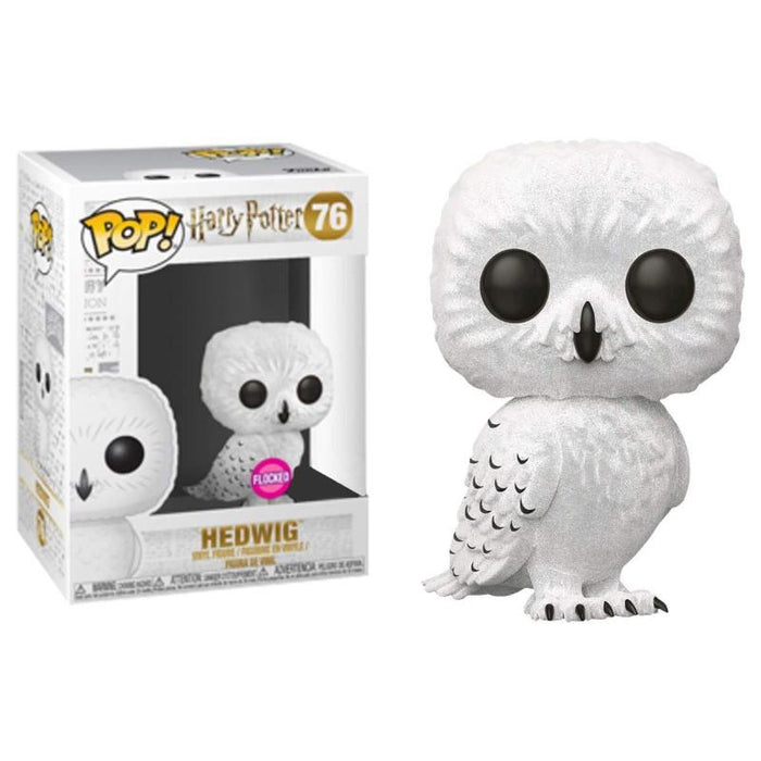 Funko Pop Movies Harry Potter Flocked Hedwig Figure